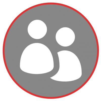 Business Contact Management Icon
